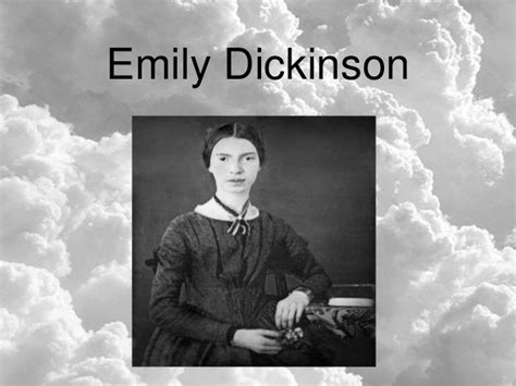 emily dickinson biography slideshare emily dickinson quot hope is the thing with feathers quot