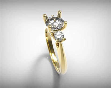 lumera diamonds printable ring sizer crown diamond ring size 19mm 3d model 3d printable stl 3dm