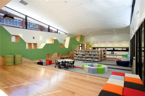 interior design biblioteca per bambini