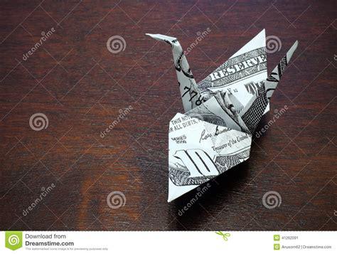 Money Crane Origami - money origami crane comot