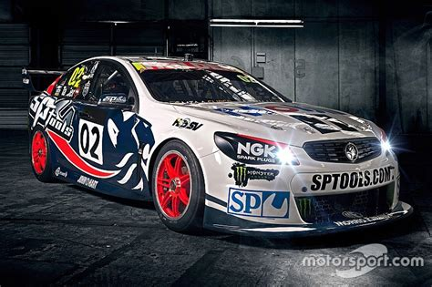 holden racing team holden racing team goes retro for townsville