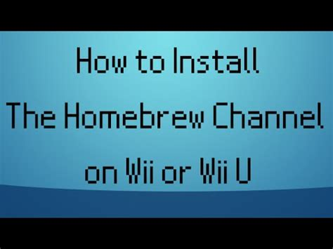 how to hack nintendo wii 43 homebrew channel letterbomb how to hack get homebrew channel for any 4 3 wii easy 2