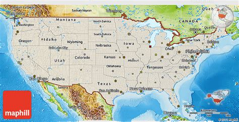 us physical map grand shaded relief 3d map of united states physical outside