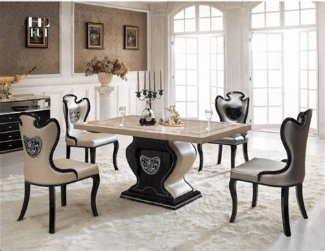 cheap marble top dining table set marble top dinning table affordable kitchen dinner