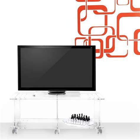 mobili porta tv design moderno mobile porta tv design moderno in plexiglass trasparente mago