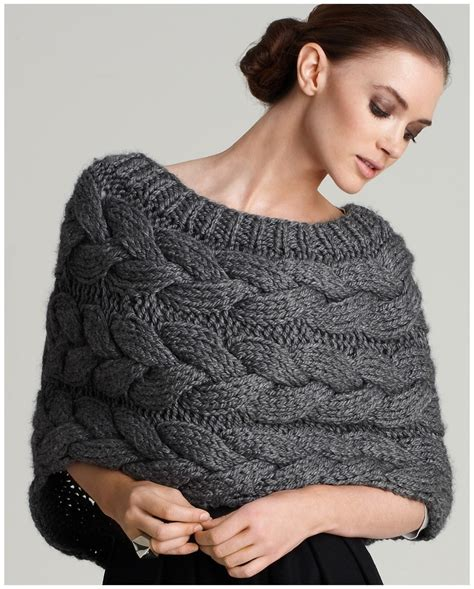 Unique Winter Wearable Shrugs Wraps Capelets Ideas For