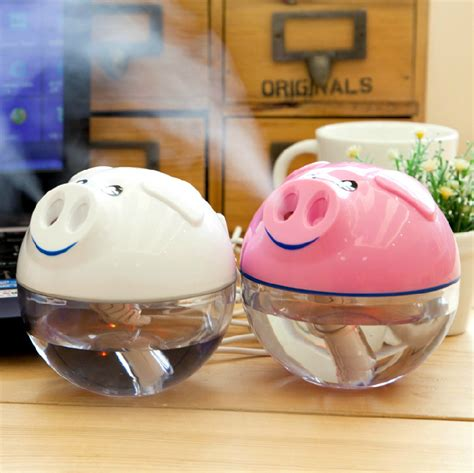 Usb Lucu jual piggy mini usb humidifier pelembab udara bentuk babi