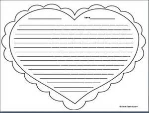 Heart Writing Paper Writing Papers Coloring And Colleges On Pinterest