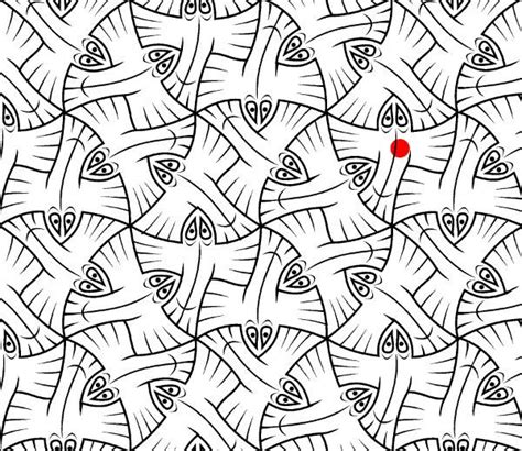 m c escher tessellation coloring pages coloring pages