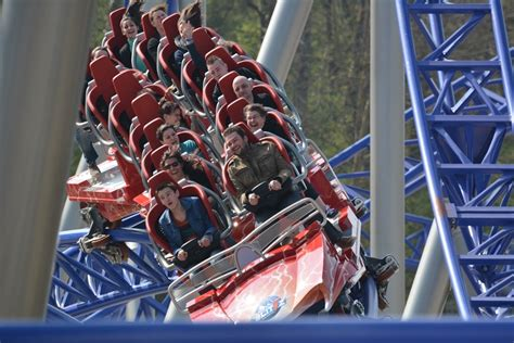 Tr Says Things On by Photo Tr Opening Day Alpina Blitz Nigloland Theme Park