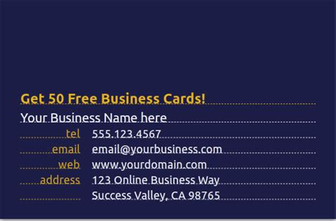 How To Get Free Business Cards