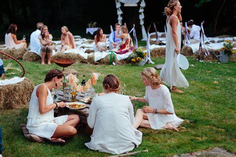 Boho Hochzeit Deko by Boho Hippie Hochzeit Im Eigenen Garten Pink Pixel