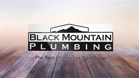 Black Mountain Plumbing San Diego drain cleaning san diego call 858 536 4161