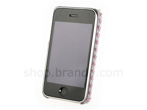 Oppo Mirror 3 R3007 Motomo Bumper Armor Soft Gaul iphone 2g 3g 3g s bling bling back pearls flowers with mirror
