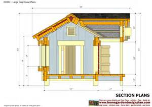 Dog House Floor Plans by Home Garden Plans Dh302 Insulated Dog House Plans