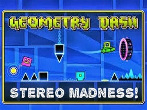 geometry dash full version stereo madness geometry dash stereo madness youtube