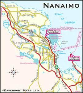 columbia maps nanaimo bc map driving direction