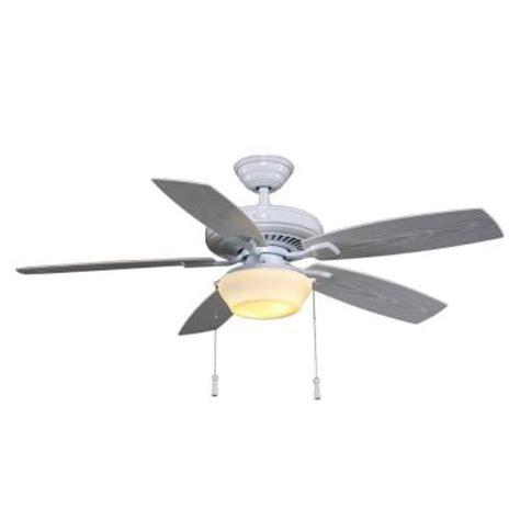 outdoor ceiling fan for gazebo hton bay gazebo ii 52 in indoor outdoor white ceiling