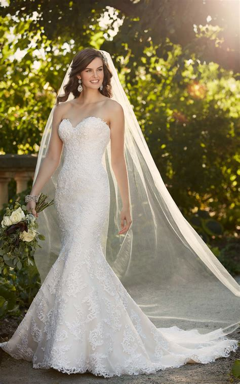 corded lace wedding dress  essense  australia