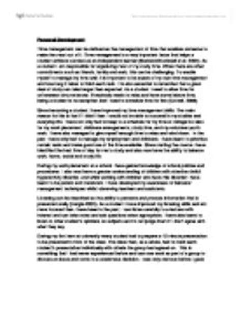 Personal Development Essay by Personal Development Essay Social Studies Marked By Teachers