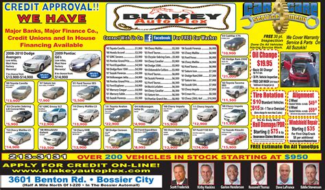 used car ads used car newspaper ads