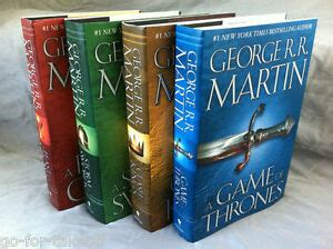 a song of ice and fire hardcover i got these from the uk game of thrones song of ice and fire 4 book hardcover set george r r martin