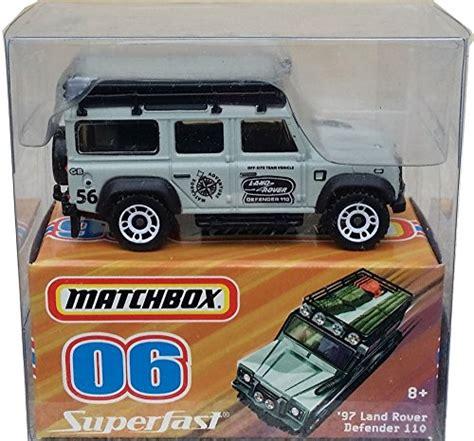 2007 matchbox walmart exclusive superfast 06 97 land rover