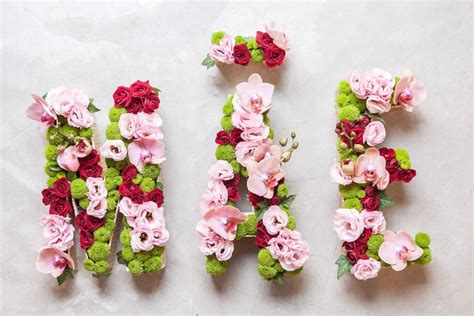 letras decoradas como fazer belas letras decoradas flores mundo real