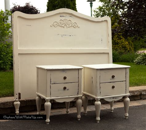White Chalk Paint Bedroom Furniture by Shabby Chic Bedroom Set Painted With Sloan Chalk