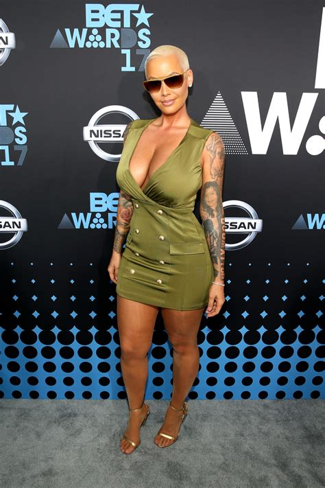bet awards   outrageous red carpet   amber