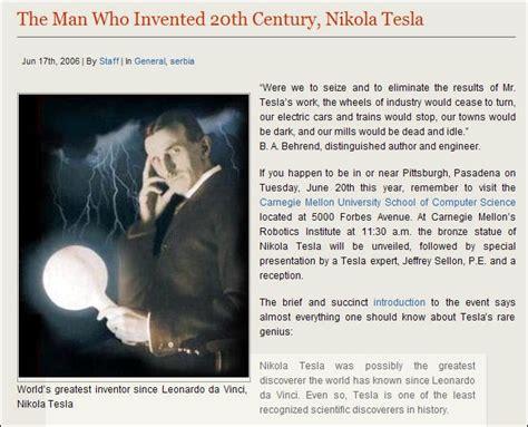nikola tesla quick biography tesla hypothesized the existence of the quark decades