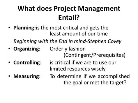 What Is Fashion Management In Mba by Mba Ii Pmom Unit 4 1 Project Management A