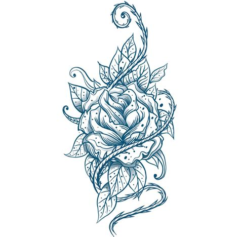 meaning of a blue rose tattoo check out these blue tattoos that are sure to