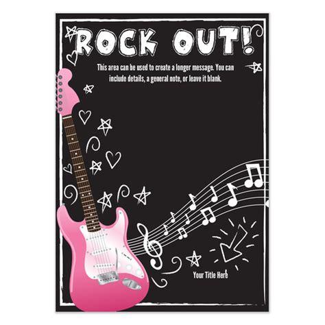 printable invitation rockstar rockstar party invitations cimvitation