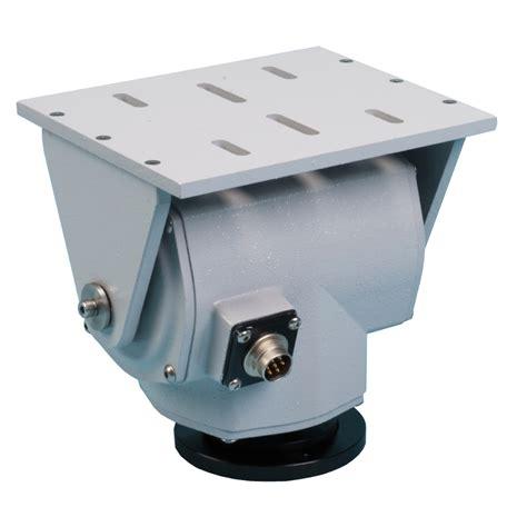 pan tilt pt 1010 small pan tilt with rs 485 pelco d or dc drive
