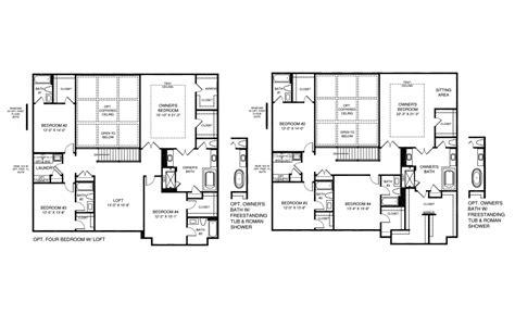 stratford homes floor plans pulte homes stratford floor plan home plan