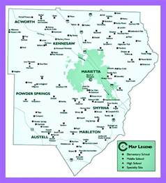 map of cobb county cobb county school schedule