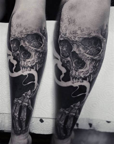 black work tattoo sinister visions blackwork tattoos by robert borbas