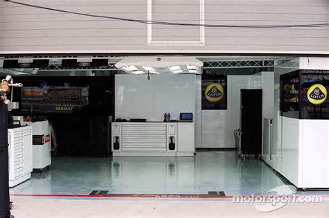 Pit Garage by Lotus F1 Team Pit Garage At Korean Gp