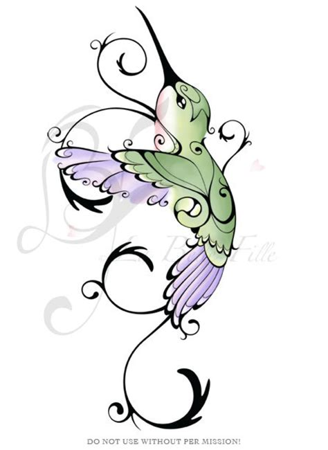 tattoos of humming bird tribal humming bird tattoos