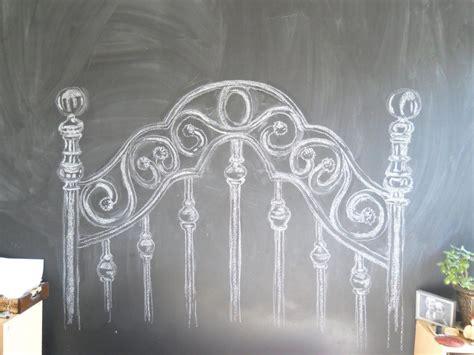 diy chalkboard headboard chalk headboard