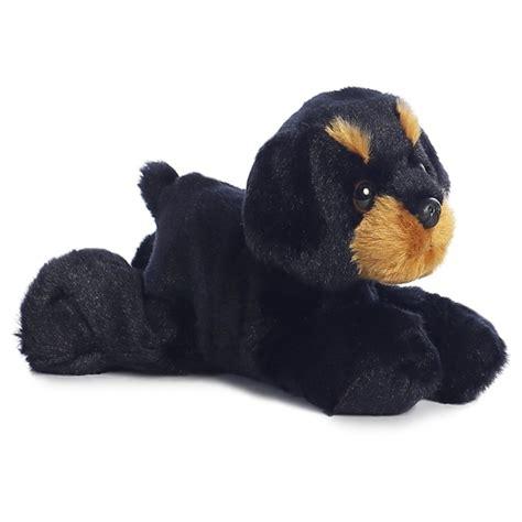 rottweiler stuff raina the stuffed rottweiler mini flopsie by