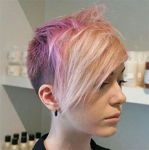 92 best short funky hair cuts images on pinterest hair funky short pixie haircut with long bangs ideas 92