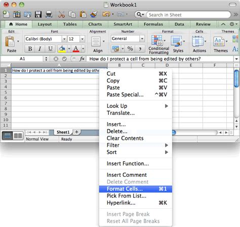 Ms Excel 2011 For Mac Protect A Cell | ms excel 2011 for mac protect a cell