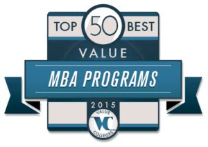 Best Mba 2015 by Best Value Master S In Business Administration Degree