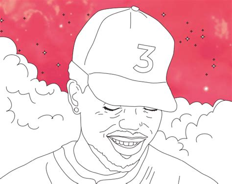 coloring book chance the rapper record chance the rapper s coloring book lyrics are now in a real