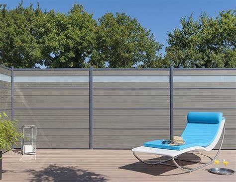barriere in legno per giardino schermo divisorio da giardino in legno composito lama per