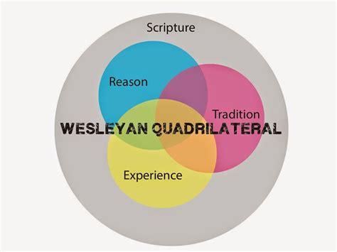 wesleyan quadrilateral diagram yankee pastor the bible and the wesleyan quadrilateral
