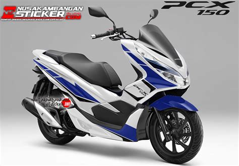 Sticker Honda Pcx by Decal Pcx 2018 The Stickers