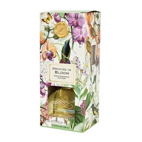 michel design works joyous christmas home fragrance diffuser michel design works fragrance diffuser orchids in bloom
